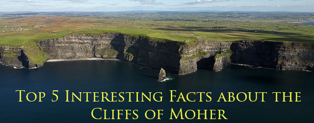 Top 5 Facts about the Cliffs of Moher